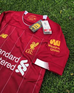 Fabulosa Jersey Original Liverpool Lfc Local 2020
