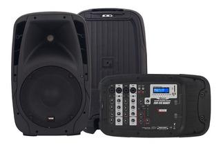 Parlante Novik Evo 410 Bluetooth Microfono 150w Mp3 Handy