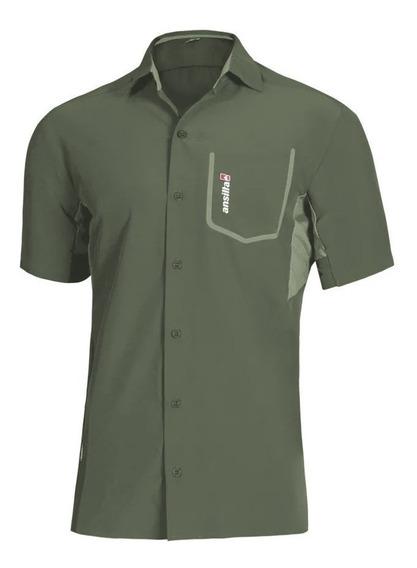 Camisa Hombre Ansilta Secado Rápido Filtro Uv W-max 2 Fresca