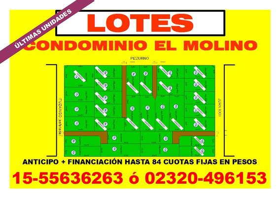 Lotes Condominio El Molino - Del Viso - 80% Vendido!