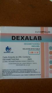 Ampolla Cabello Grasoso, Dexametasona