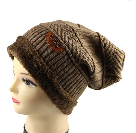 Sombrero De Punto Cálido De Invierno Para Hombres Gorro De