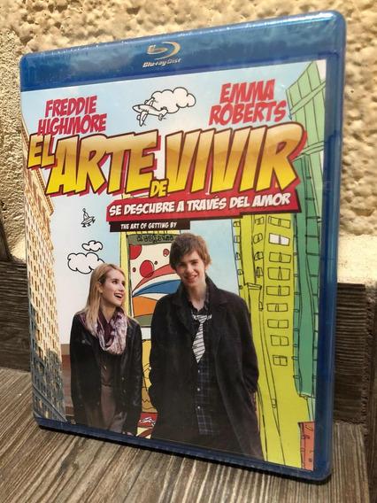 El Arte De Vivir Freddie Highmore Emma Roberts Blu-ray