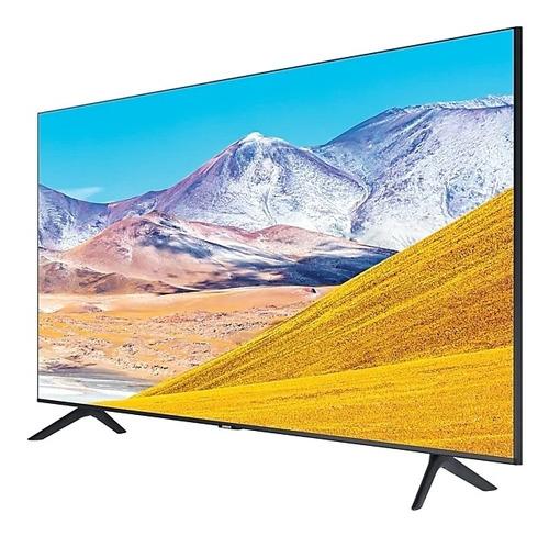 Tv Samsung 43 Tu8000 Smart 4k Crystal Gtia1año +soporte Fijo