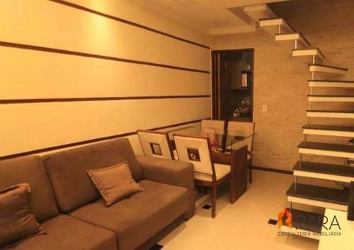 Casa Com 2 Dormitórios À Venda, 117 M² Por R$ 440.000,00 - Nova Petrópolis - São Bernardo Do Campo/sp - Ca0055