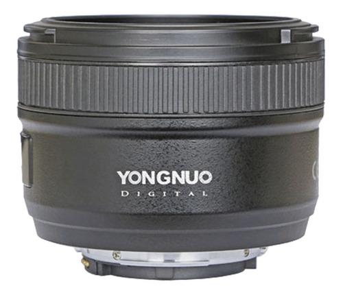 Lente De Enfoque Automatico Yn50mm F1.8 Negro