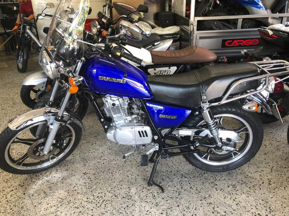 Gn 125 Suzuki Usada Perfecto Estado Cubiertas Michelin