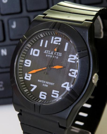 Relógio Atlântis Submariner Borracha Lançament Original C311