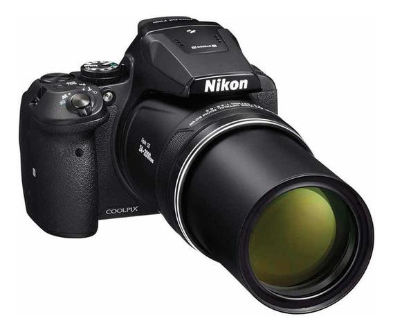New Nikon P900 2020 Zoom 83x Fhd Gps Wifi 18 Cuotas Sin Inte