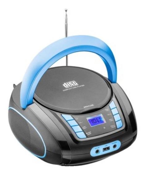 Radio Cd Com Bluetooth 6in1 Usb Som Potente 20w Bivolt Music