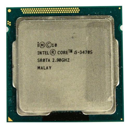 Processador gamer Intel Core i5-3470S CM8063701094000 de 4 núcleos e 2.9GHz de frequência com gráfica integrada
