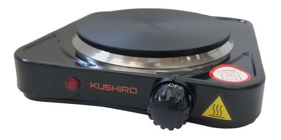 Anafe Electrico 1 Hornalla Kushiro 1000w Bajo Consumo Cocina