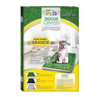 Tapete Sanitario Entrenador Doggie Grass G 76x50cm P/ Perros