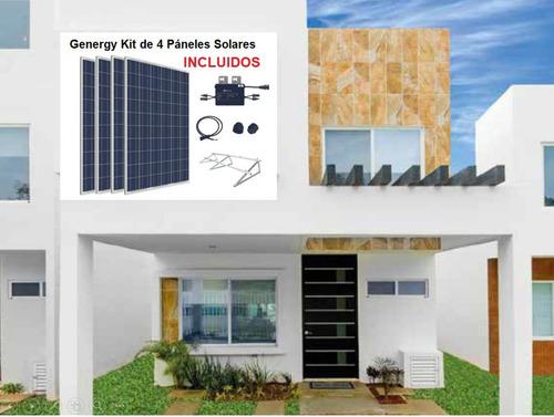 Casa En Venta, Con 4 Paneles Solares, 3 Recámaras, 2 Niveles, La Joya, Playa Del Carmen