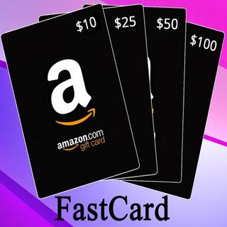 Tarjetas De Regalo Amazon Usa 5 10 15 20 25 50 100 Fastcard