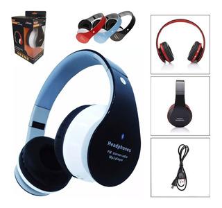 Fone Ouvido Sem Fio Bluetooth Headphone Chamadas Micro Sd Fm