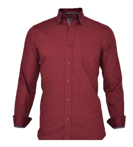 2 Camisas De Vestir Para Hombre De Moda Corte Slim Fit