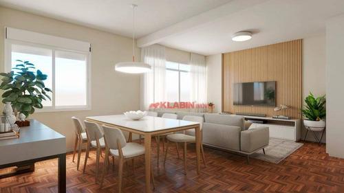 Apartamento Com 2 Dormitórios À Venda, 90 M² Por R$ 980.000,00 - Higienópolis - São Paulo/sp - Ap10359