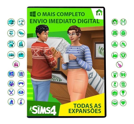 The Sims 4 - Todas As Expansões Para Pc (envio Digital)