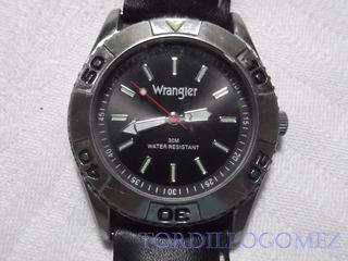 Reloj Wrangler Fondo Negro