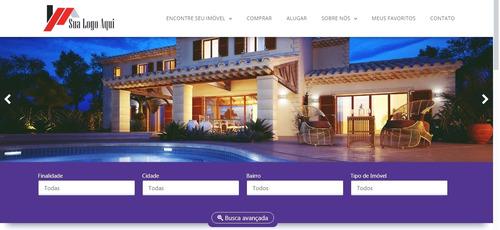 Imagem 1 de 10 de Sistema Dinâmico Para Imobiliárias E Corretores De Imóveis