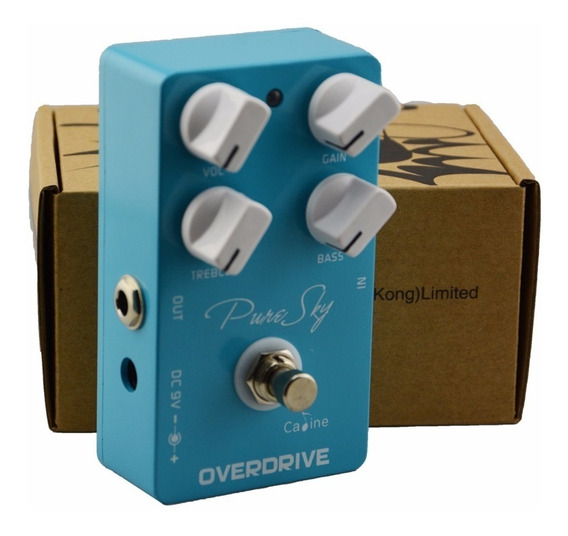 Pedal Over Drive Pure Sky Caline - Top