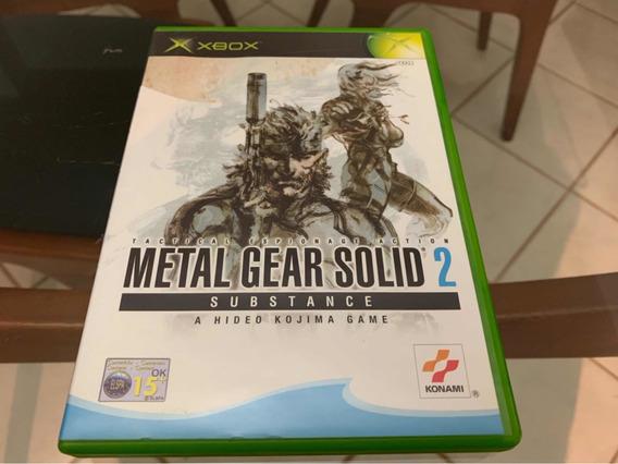 Metal Gear Solid 2 Xbox Clássico