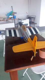 Aeromodelo Completo Com Radio E Motor E Acessórios Variados