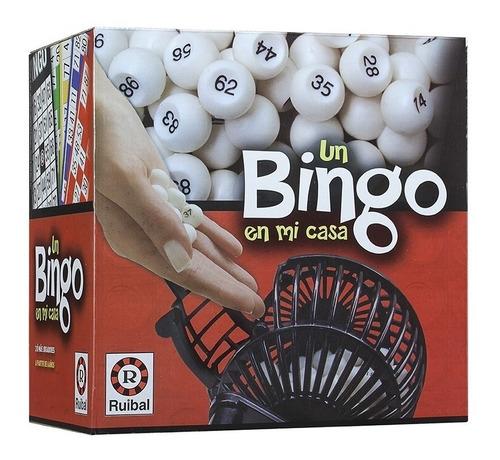 Imagen 1 de 6 de Juego de mesa Un Bingo en mi Casa Ruibal