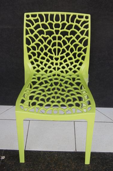 Kit C/7 Cadeiras Gruvyer Design Em Polipropileno-1001 Coisas