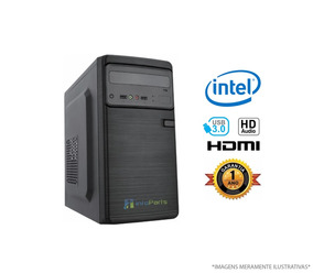 Computador Home Office Intel Pentium G5400 4gb Ram Hd 320gb