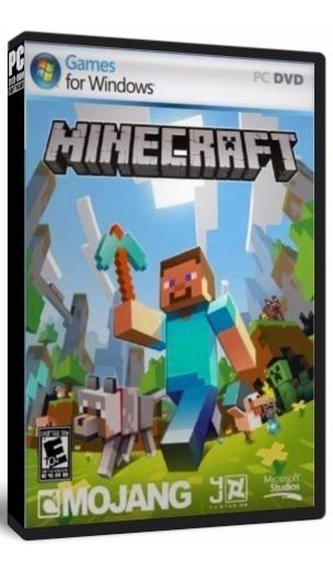 Minecraft Pc Dvd Mídia Física - Frete 8 Reais