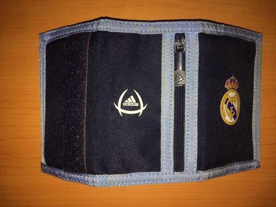 Billetera adidas Original Del Real Madrid 30 Verde