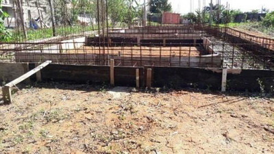 Terreno Barato Com Construção Iniciada, Em Peruíbe-sp.