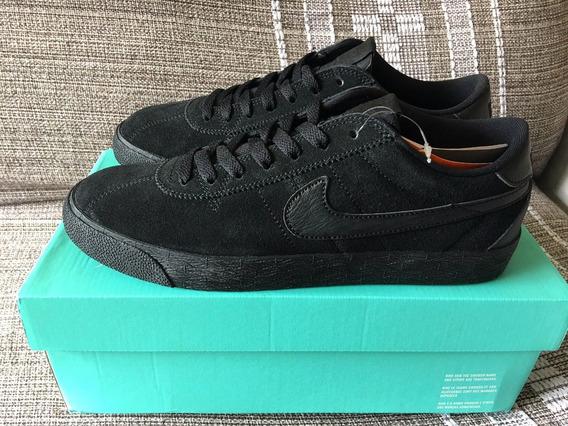 Nike Bruin Sb All Triple Black Nº 40 (us 8.5)