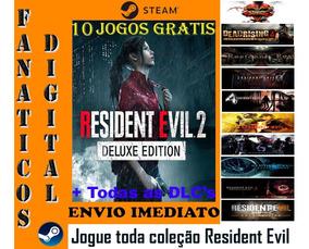 Resident Evil 2 Deluxe Edition Pc Original Steam + Brinde