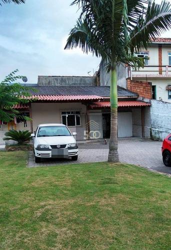 Casa Com 3 Dormitórios À Venda, 100 M² Por R$ 265.000,00 - Serraria - São José/sc - Ca0198