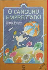 Livro O Canguru Emprestado Mirna Pinsky -frete Gratis
