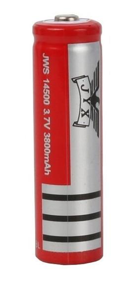 Bateria Recarregável J.y.x 14500 - 3,7v 3800 Mah - Unitária