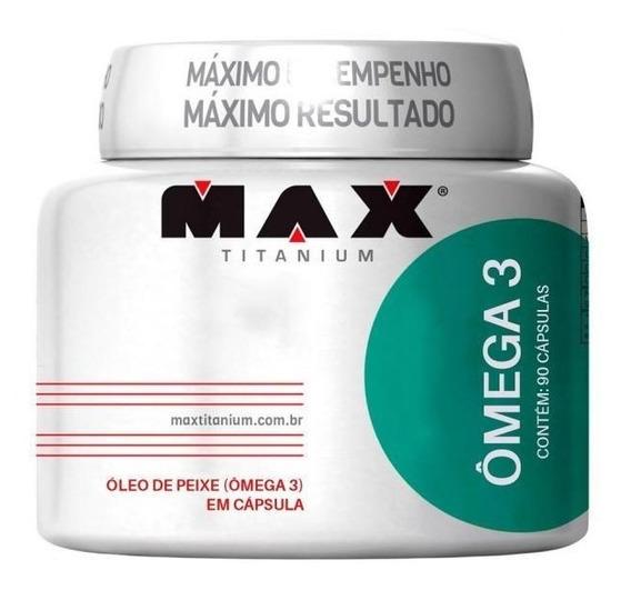 Ômega 3 (90cáps) Max Titanium
