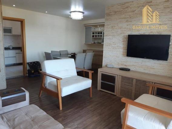 Apartamento Para Alugar, 105 M² Por R$ 2.400,00/mês - Jardim Esplanada Ii - São José Dos Campos/sp - Ap1233