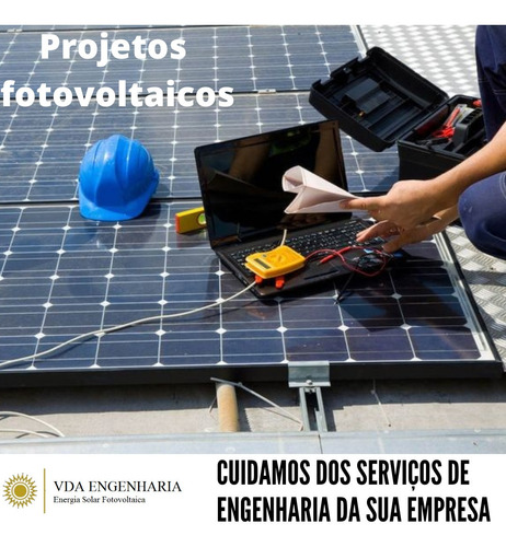 Imagem 1 de 6 de Projeto De Energia Solar - Homologação Cemig
