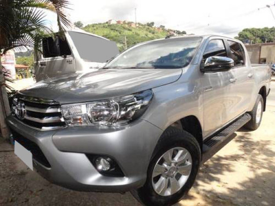 Toyota Hilux Cd Srv 4x4 Ano 2018 Completa.