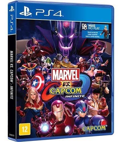 Marvel Vs Capcom Infinity - Ps4 - Mídia Física