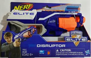 Pistola Nerf Lanza Dardos Disruptor Nueva