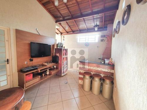 Imagem 1 de 12 de Casa Com 3 Dormitórios À Venda, 200 M² Por R$ 370.000 - Jardim Piratininga - Ribeirão Preto/sp - Ca0992
