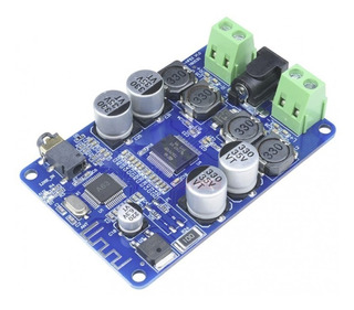 Amplificador De Audio Con Receptor Bluetooth 2 Canales 25w