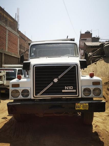 Volvo N10 Volquete Totalmente Operativo Precio Negociable