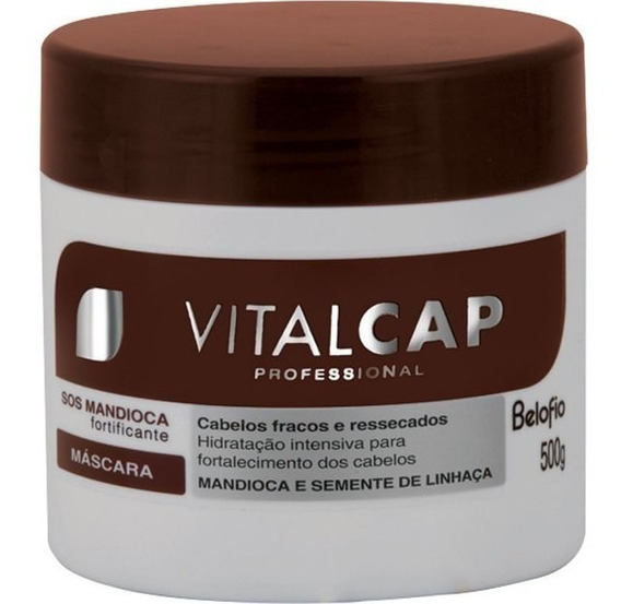 Belo Fio Vitalcap Sos Mandioca Mascara 500 Gr