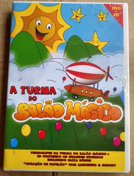 Cd + Dvd A Turma Do Balão Mágico